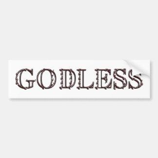 Godless Car Bumper Sticker