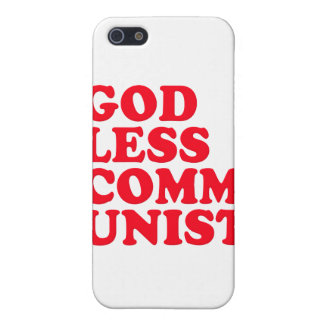 Godless Communist iPhone 5 Covers