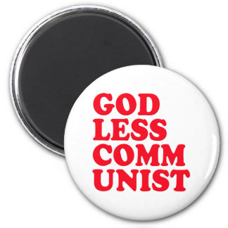 Godless Communist Fridge Magnets