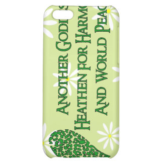 Godless For World Peace iPhone 5C Case