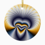 Godless - Fractal Ceramic Ornament