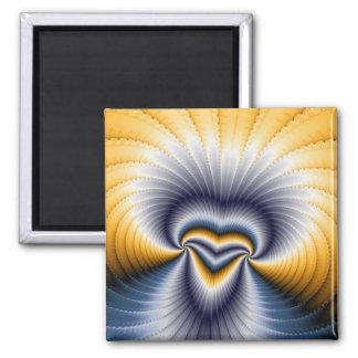 Godless - Fractal Refrigerator Magnet
