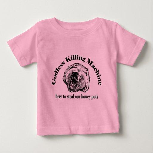 GODLESS KILLING MACHINE BABY T-Shirt