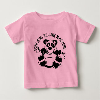 GODLESS KILLING MACHINE PANDA BABY T-Shirt
