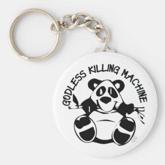 GODLESS KILLING MACHINE PANDA KEY CHAINS