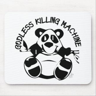 GODLESS KILLING MACHINE PANDA MOUSE PAD