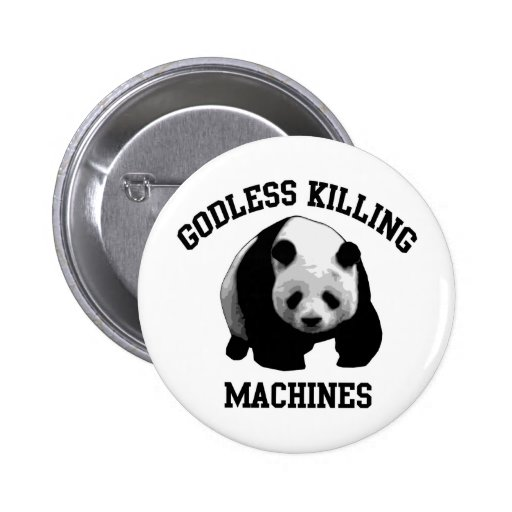 Godless Killing Machines Buttons