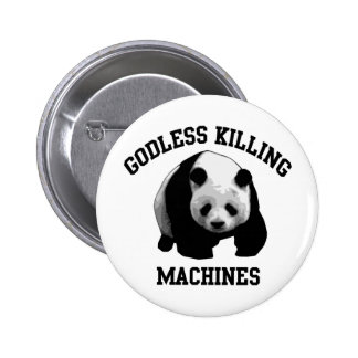 Godless Killing Machines Pinback Button