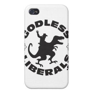 Godless Liberals Official Logo Iphone 4 case