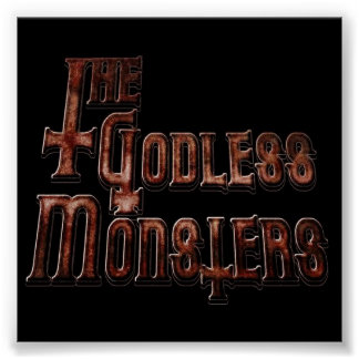 GODLESS MONSTERS POSTER