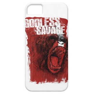 Godless Savage iPhone 5/5S Cases