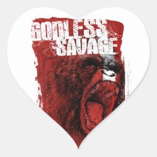 Godless Savage Sticker