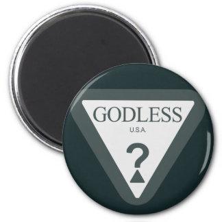 Godless USA? Refrigerator Magnet