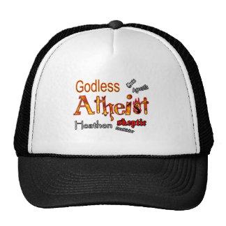 Godless Words Trucker Hat