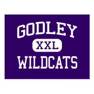 Godley - Wildcats - High School - Godley Texas Postcard