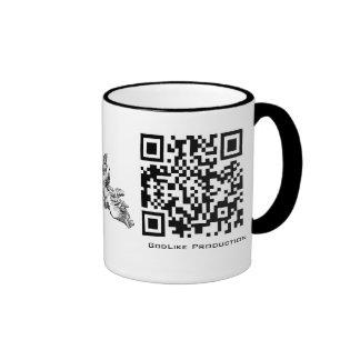 GodLike Production QR Code Logo Coffee Mug