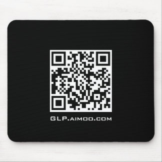 GodLike Production QR Code Logo Mouse Pad
