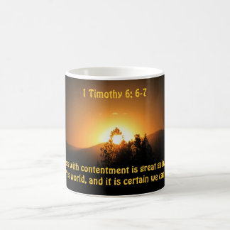 Godliness With Contentment is Great Gain Coffee Mug
