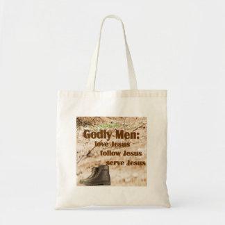 Godly Men Tote Bag