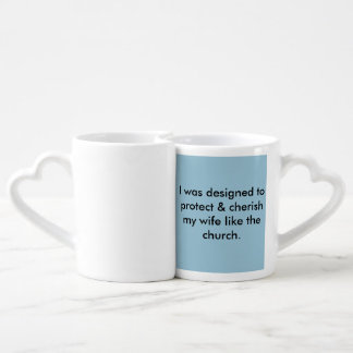 Godly Virtuous woman & Man mug