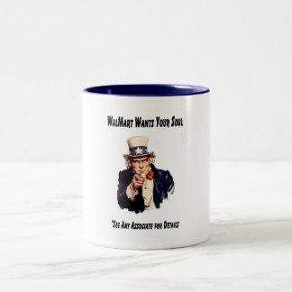 GodMart Two-Tone Coffee Mug