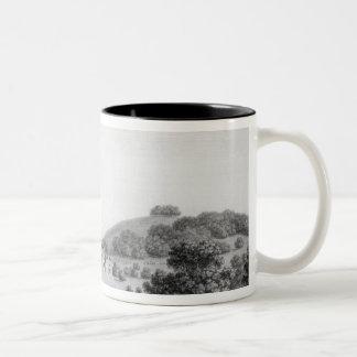 Godmersham Kent Park Two-Tone Coffee Mug