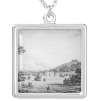 Godmersham Kent Park Silver Plated Necklace
