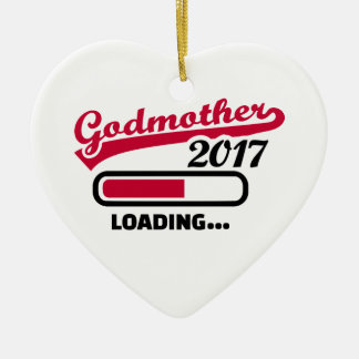 Godmother 2017 ceramic ornament