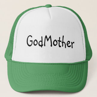 GodMother Black Trucker Hat