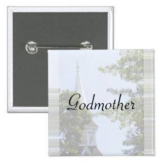 Godmother Button/pin Pinback Button