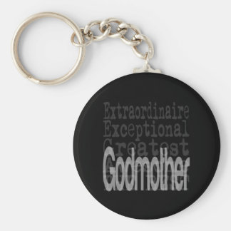 Godmother Extraordinaire Keychain