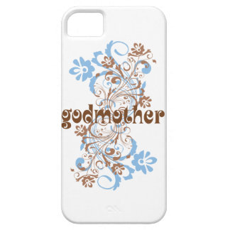 Godmother Flowered Swirl iPhone SE/5/5s Case