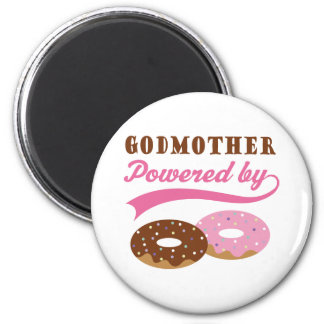 Godmother Gift Donuts Magnets