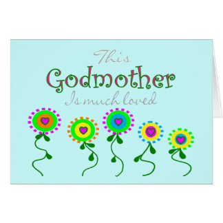 Godmother Gifts for Any Occasion Greeting Card