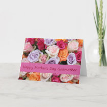 Godmother    Happy Mother's Day rose card