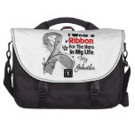 Godmother Hero in My Life Brain Cancer Laptop Bags