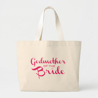 Godmother of Bride Tote Pink