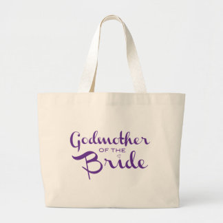 Godmother of Bride Tote Purple