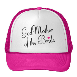 Godmother Of The Bride Trucker Hat