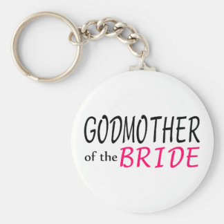 Godmother Of The Bride Keychains