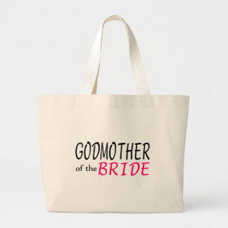 Godmother Of The Bride Large Tote Bag