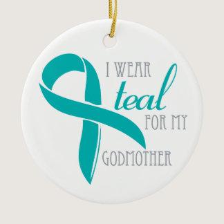 Godmother - Ovarian Cancer Ornament