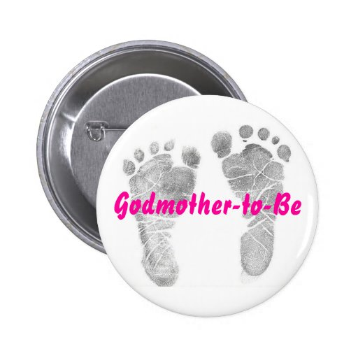 Godmother-to-Be Button