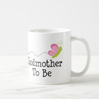 Godmother To Be Gift Classic White Coffee Mug