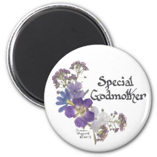 Godmother tribute 2 inch round magnet