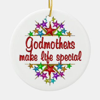 Godmothers are Special Ceramic Ornament