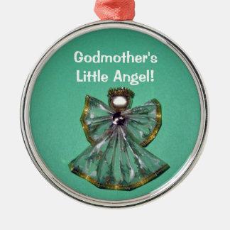 Godmother's, Little Angel! Metal Ornament
