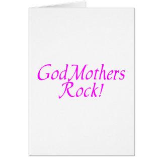 GodMothers Rock Pink Card