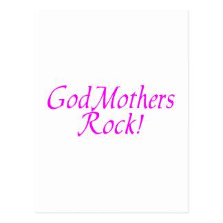 GodMothers Rock! Postcard