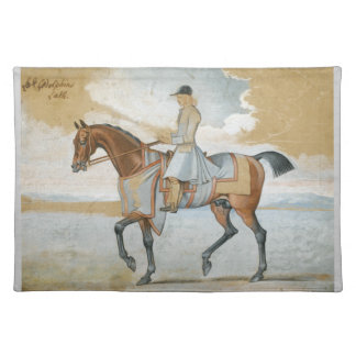 Godolphin Arabian Thoroughbred Horse Tablemat Placemat